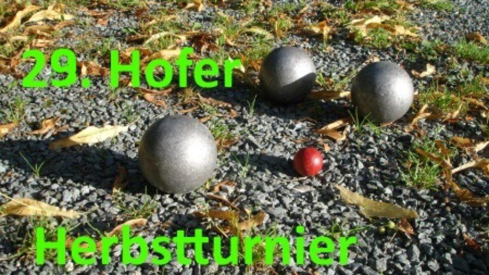 Vorschau Herbstturnier 17
